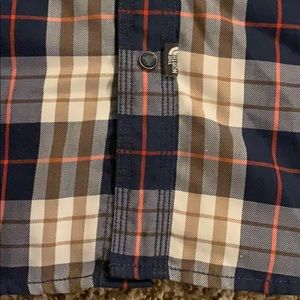 The North Face Shirts - Men's plaid THE NORTH FACE Button Down Shirt SMALL